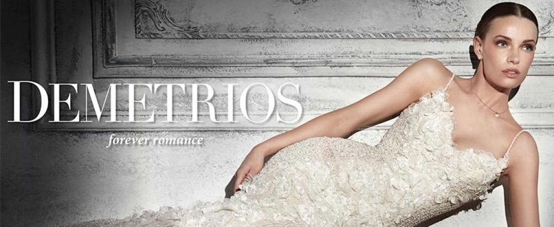 Introducing Demetrios Bridal Wedding Dresses
