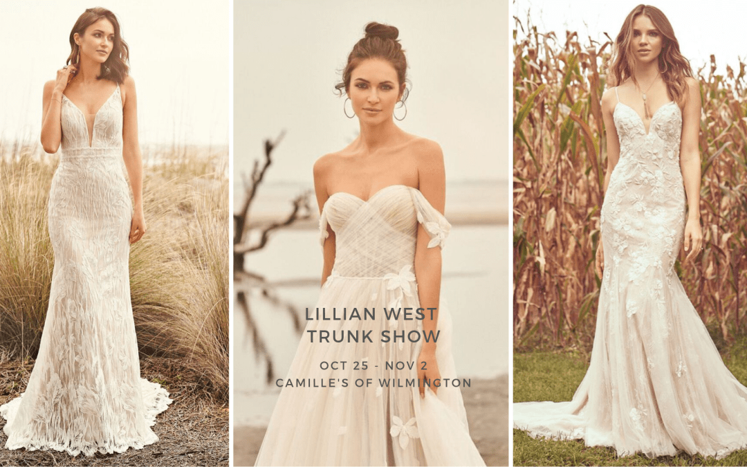 Lillian West Trunk Show Oct 25 – Nov 2