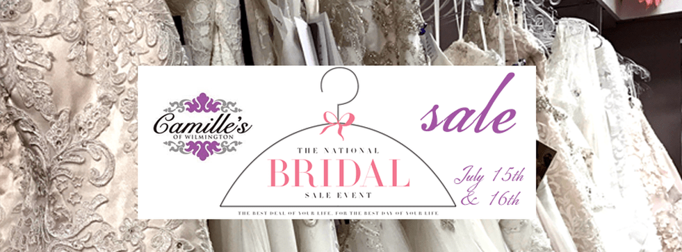 National Bridal Sale Day! Save up to 75%